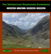 an interactive tour through Snowdonia national park